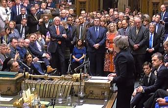 İngiltere Parlamentosu Başbakan May'in AB ile vardığı Brexit anlaşmasını reddetti