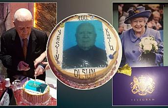 Derviş Niazi, 100'üncü yaş gününü Londra'da kutladı