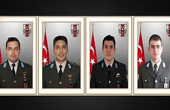 Şehit askerlerin cenazeleri memleketlerine uğurlandı