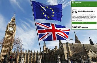 Brexit'in iptaline ilişkin dilekçe o tarihte görüşülecek!