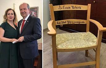 Eşinden Başbakan'a sürpriz hediye