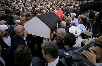 Kadir Mısıroğlu, son yolculuğuna uğurlandı
