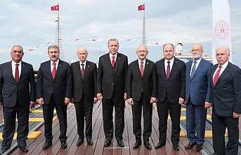 Liderleri 19 Mayıs Bir Araya Getirdi