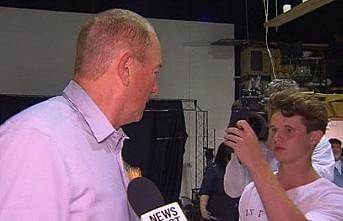 'Yumurta çocuk'tan Christchurch mağdurlarına 100 bin dolar bağış