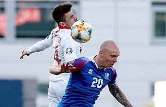 A Milli takım İzlanda karşısında 2-1 mağlup