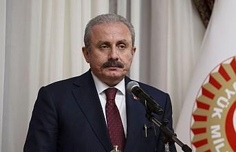 TBMM Başkanı Mustafa Şentop'tan İmamoğlu'na tebrik