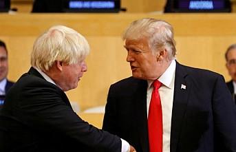 Trump'tan Boris Johnson'a övgü