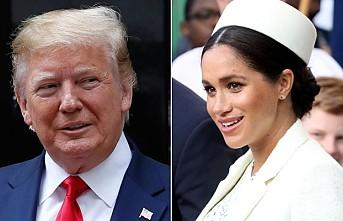 Trump'tan 'edepsiz Meghan' açıklaması