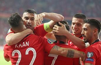 Türkiye Fransa karşısında 2-0 önde