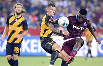Trabzonspor, UEFA Avrupa Ligi'nde gruplara kaldı