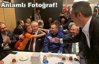 Derbi sonrası Ali Koç çekti, Mustafa Cengiz poz verdi!