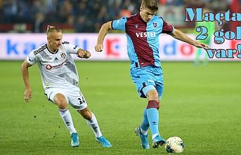 Trabzonspor , Beşiktaş Maçı böyle başladı!