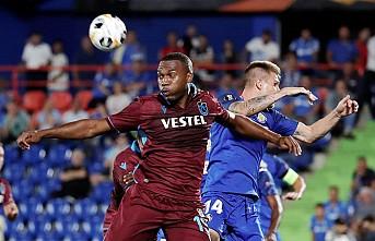 Trabzonspor, deplasmanda Getafe'ye yenildi