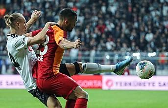 Beşiktaş, Galatasaray' puan vermedi