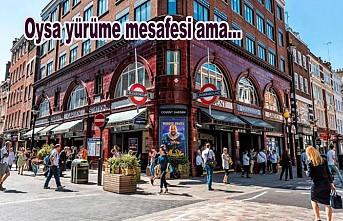 Londra'da en yakın iki istasyon arasına turistler 100 bin Sterlin ödüyor