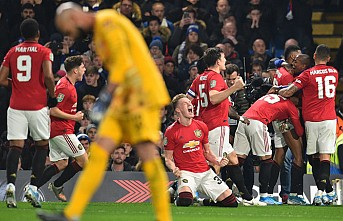 Manchester United, Lig Kupası'nda Chelsea'yi eledi