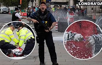 Park cezasına kızdı kendini İngiliz Parlamentosunun önünde yaktı!