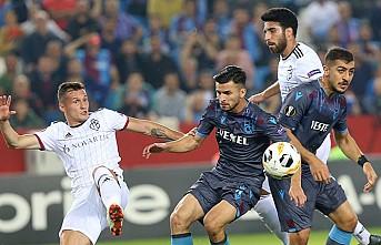Trabzonspor, Basel'e karşı üstünlüğünü koruyamadı