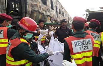 Yolcu treninde yangın çıktı, 73 ölü