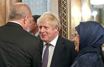 Erdoğan, Kraliçe II. Elizabeth'in Verdiği Resepsiyona Katıldı