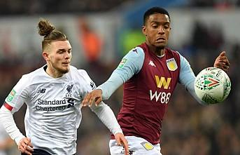 İngiltere Lig Kupası'nda ilk yarı finalist Aston Villa