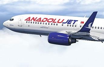 Anadolujet'in dış hat uçuş noktaları açıklandı