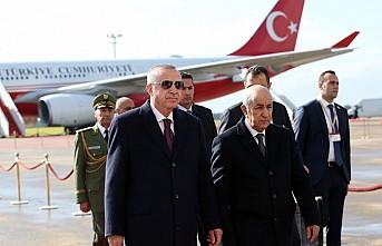 Erdoğan Cezayir'i Ziyaret Ediyor