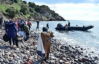 Avrupa Yolcusu Göçmenler Ege Sahillerinde