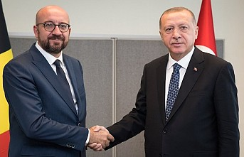 Erdoğan, AB Konseyi Başkanı Michel ile telefonda görüştü