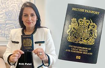İngiltere'nin yeni pasaportu böyle olacak!