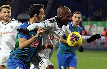 Sergen Yalçın'ın Beşiktaş'ı Rize'de Galip