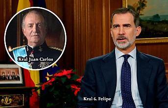 İspanya Kralı, babasının maaşını kesti!