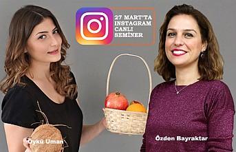 'Kaos Döneminde Stres Yönetimi' Instagram'dan Canlı Seminer