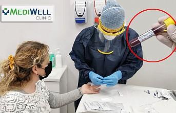 Londra'da Mediwell Clinic 'Kovid-19' Testine Başladı