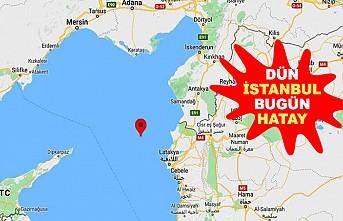 Akdeniz'de 4,0 büyüklüğünde deprem