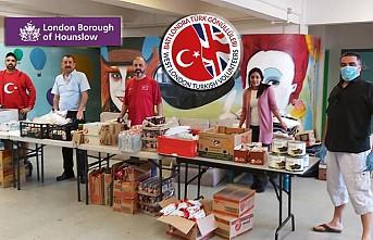 Batı Londra Türk Gönülleri Gıda Bankası Destek Bekliyor
