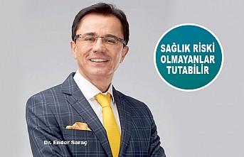 """Dr. Ender Saraç'tan Sağlıklı Kişilere """"Oruç Tut"""" Tavsiyesi"""