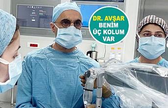 Dünya Dr Avşar'ın 'Robot Kolu'nu Bekliyor