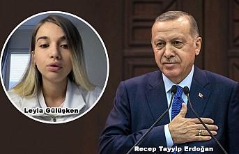 Erdoğan, Türkiye'ye getirilen Gülüşken'in kızı ile görüştü