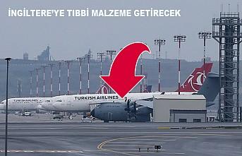 İngiliz Hava Kuvvetleri Uçağı, Sağlık Ekipmanları İçin İstanbul'da