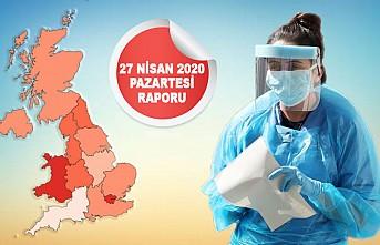 İngiltere'de Koronavirüs Ölüm Rakamları Hız Kesti