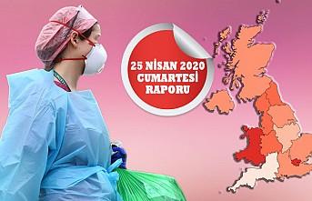 İngiltere'de Koronavirusten Ölü Sayısı 20 Bin Sınırını Aştı
