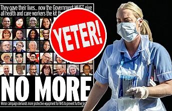 İngiltere'de Sağlık Çalışanları Ayakta!