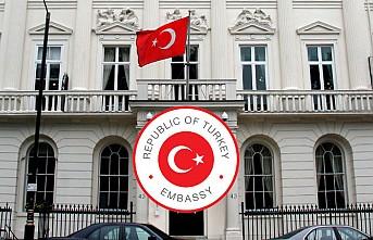 Londra Büyükelçiliğinden Vatandaşla Dayanışma Mesajı