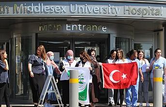 Milli Görüş'ten Londra'daki Sağlık Çalışanlarına Destek