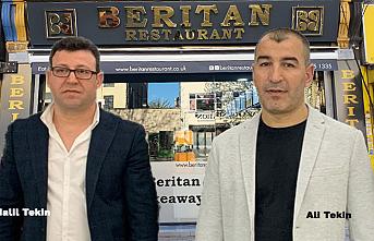 Londra'da NHS Çalışanlarına Beritan Restaurant'tan Ücretsiz Yemek