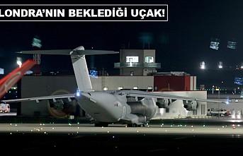 Sağlık malzemesi getiren İngiliz uçağı İstanbul'dan ayrıldı