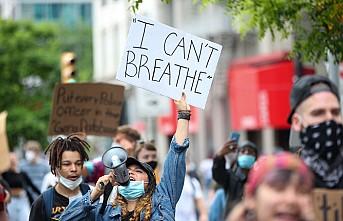 ABD'deki Siyahi George Floyd'un Ölümüne Protestolar Artıyor