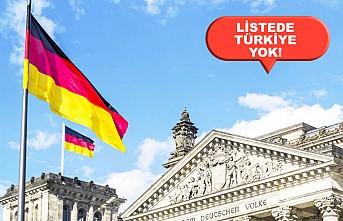 Almanya 31 ülkeye seyahat yasağını kaldırıyor!