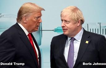Johnson ile Trump Kovid-19 Aşısını Konuştu